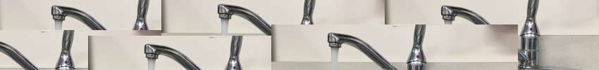 image of multiple faucets